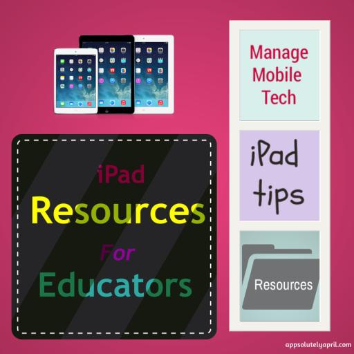 iPad Resources for Educators
