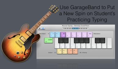 Garageband+Keyboard=Awesomeness
